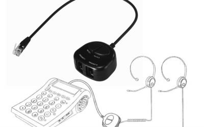 Zestawy szkoleniowe słuchawki trenerskie