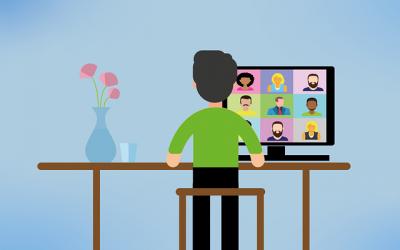 5 szybkich porad jak dobrze wypaść podczas wideokonferencji